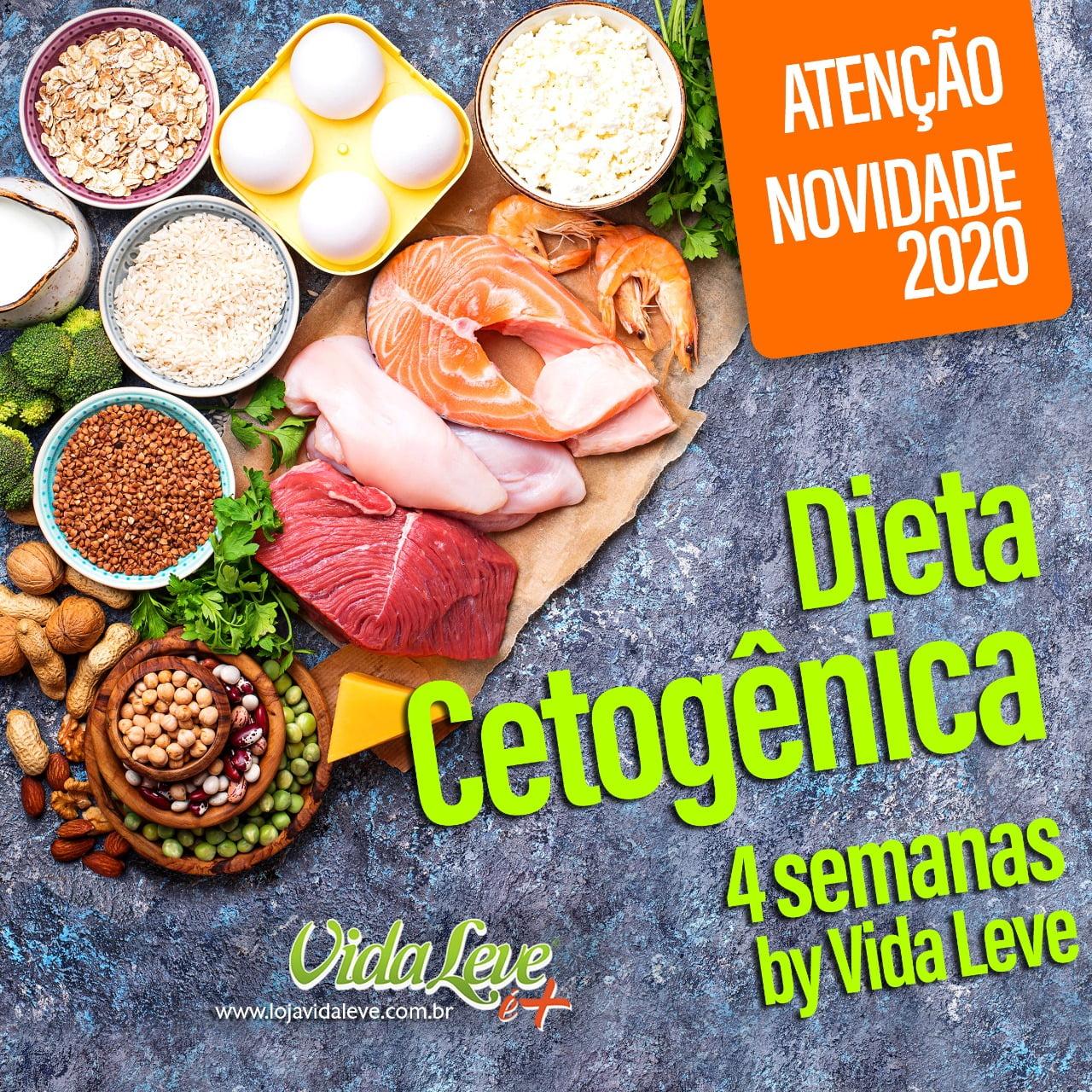 DIETA CETO LEVE 28 DIAS - Dieta Cetogênica