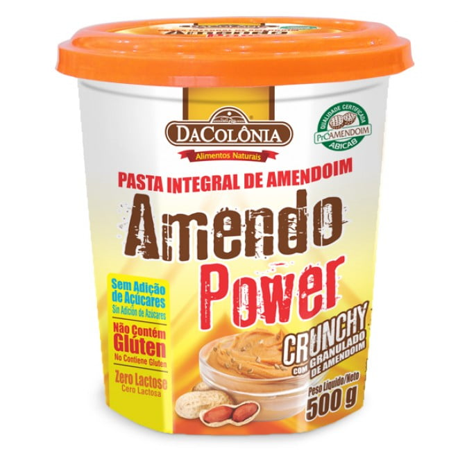 AMENDO POWER CRUNCHY - DACOLÔNIA 500G