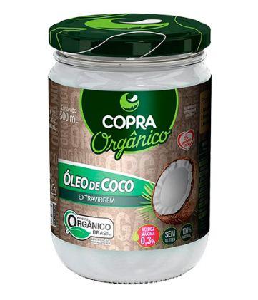 ÓLEO DE COCO EXTRAVIRGEM ORGÂNICO - COPRA 500ML