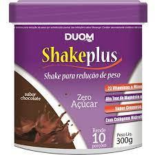 SHAKE PLUSS- DUOM SABOR CHOCOLATE BELGA