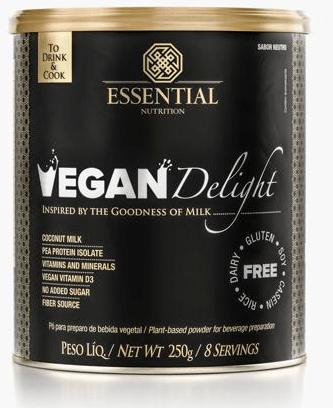 VEGAN DELIGHT 250G - ESSENTIAL NUTRITION