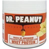 PASTA DE AMENDOIM DE CHOCOLATE BRANCO - 500G DR. PEANUT