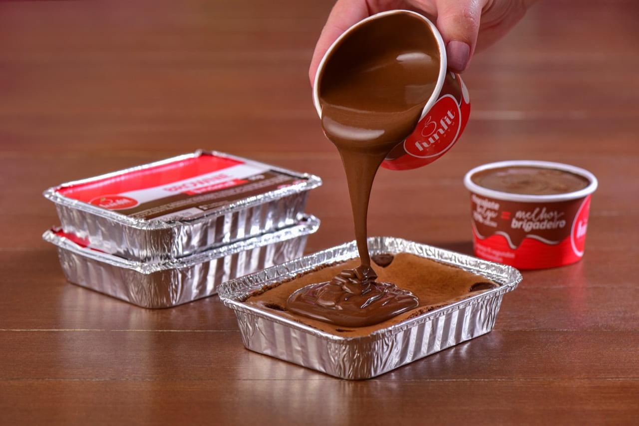 BROWNIE SEM CALDA DE CHOCOLATE - FUNFIT