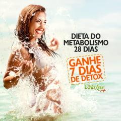 Combo 35 dias: Dieta do Metabolismo Acelerado 28 dias e GANHE 7 dias de Dieta Detox
