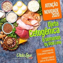 DIETA CETO LEVE 6 SEMANAS - Dieta Cetogênica