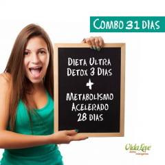 Dieta do Metabolismo Acelerado - 31dias GANHE 3 DIAS GRÁTIS DE ULTRA DETOX