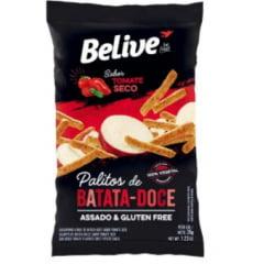 PALITOS DE BATATA DOCE SABOR TOMATE SECO - BELIVE 35G