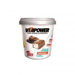 PASTA INTEGRAL DE AMENDOIM VITAPOWER PRESS CREAM  1,005KG -  MRS TASTE