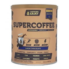 SUPERCOFFEE IMPOSSIBLE  - CAFFEINE ARMY SABOR CHOCOLATE 220G