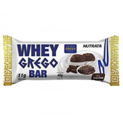 WHEY GREGO BAR BRIGADEIRO - NUTRATA 40G
