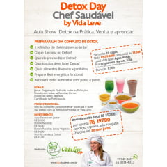 Aula Show Detox Day Chef Saudável - 24/09