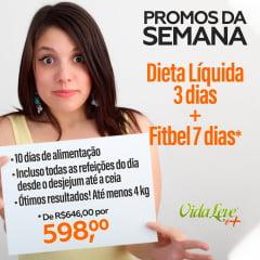 PROMOS DA SEMANA: DIETA LÍQUIDA 3 DIAS + KIT FIT BEL 7 DIAS